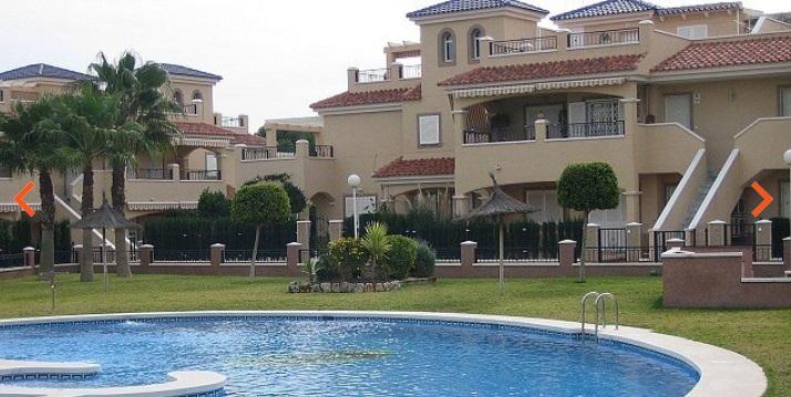 bungallow Hiszpania